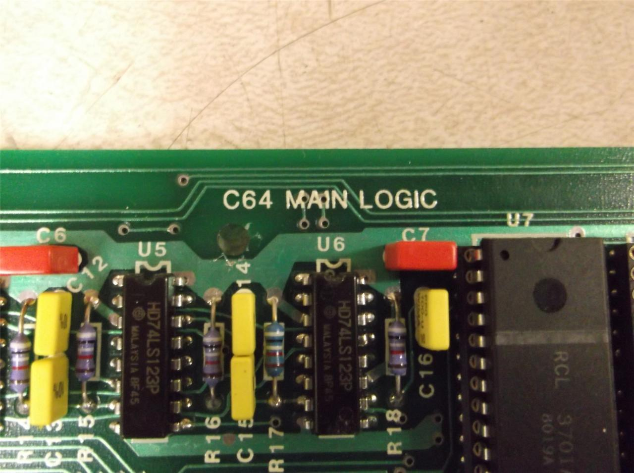 Circuit Board Commodore 64 Excellent Electrical Wiring Diagram House Circuitboardclockjpg Icon C64 Main Logic 302 030 03 Daves Industrial Surplus Llc Nintendo Entertainment System