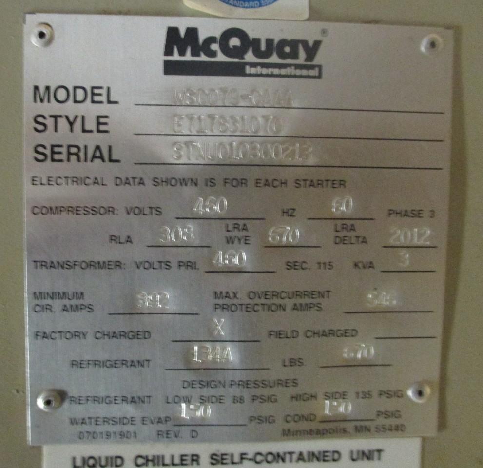Mcquay Air Conditioning service manual