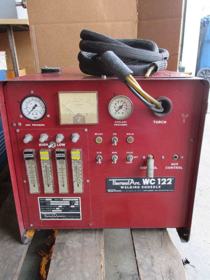 liquidation kitchen cabinets thermal arc wc122 welding console daves industrial 3819