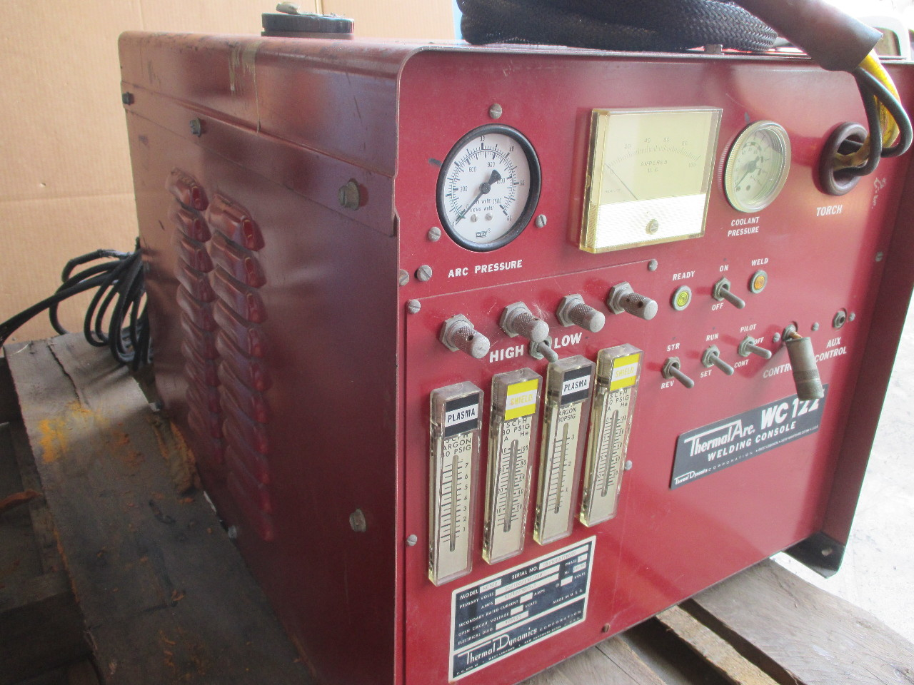 what is a precision haircut thermal arc wc122 welding console daves industrial 3819