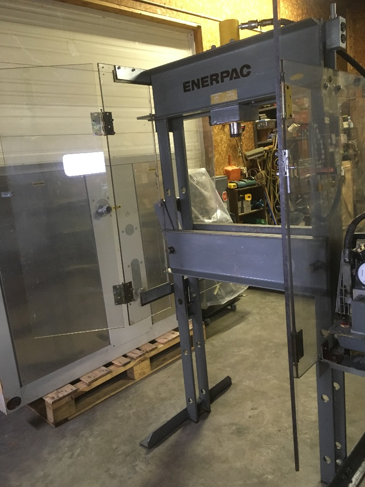 Enerpac 25 Ton H Frame Hydraulic Press With Enterpac