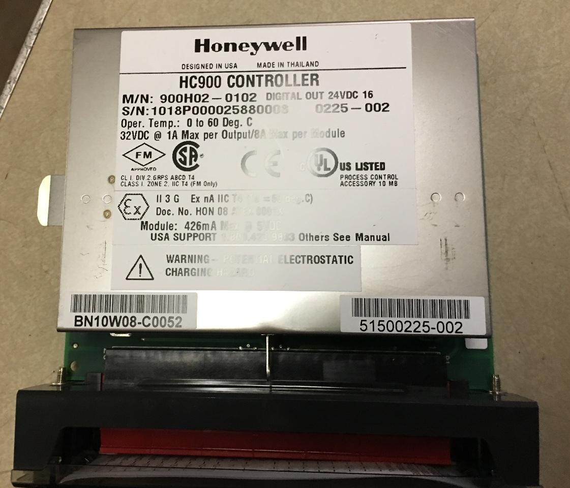 Honeywell HC 900 Controller digital out 900H02-0102