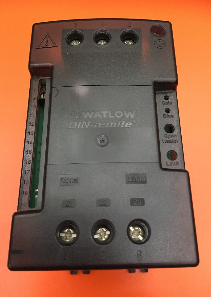 Watlow DC10-60C0-0000 Din-a-Mite power controller up to 600V and 55amps