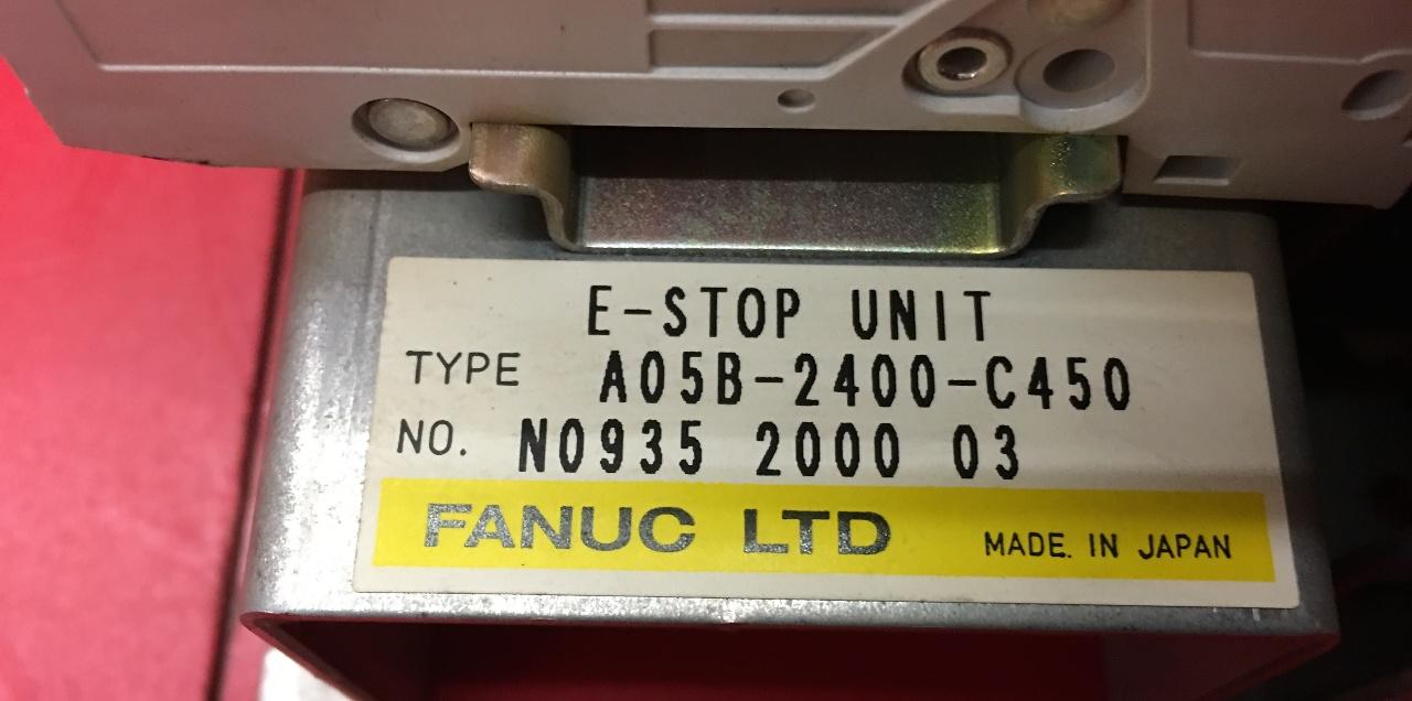 FANUC A05B-2400-C450 E-STOP UNIT