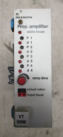 Rexroth Amplifier VT5006