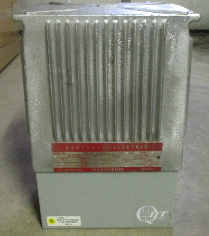 GE Transformer 10 KVA 9T21B1009 G2 - 480-240/120 volts