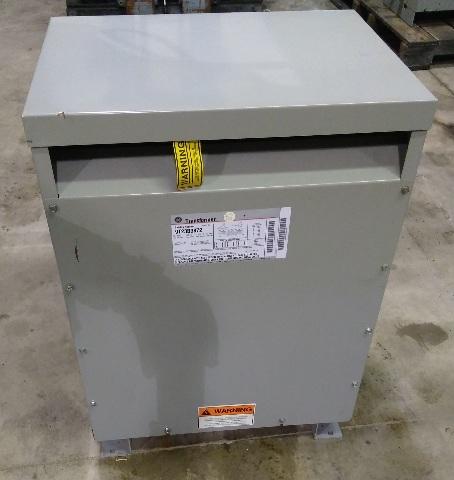 GE 9T23B3872 Transformer 30 KVA 480-208Y/120