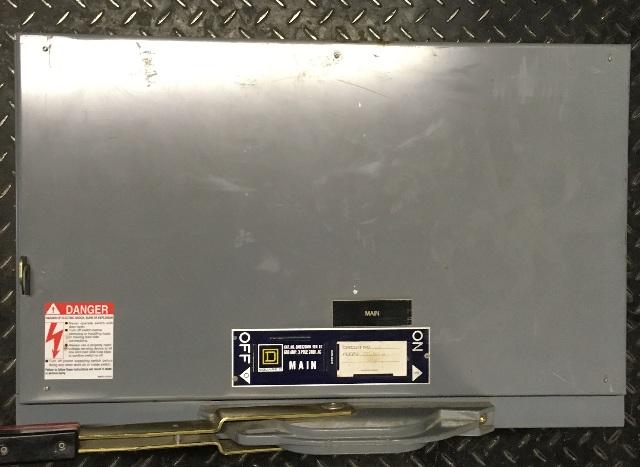 D Square QMB326MW- MAIN SWITCH, 600AMP, 240V AC, 240V DC