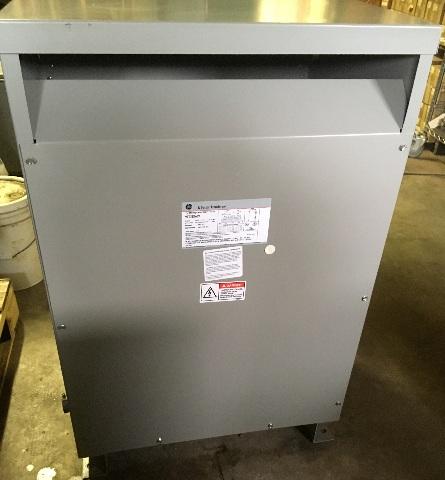 GE 9T03B5639 Transformer 75 KVA 480-208 Y/120 V