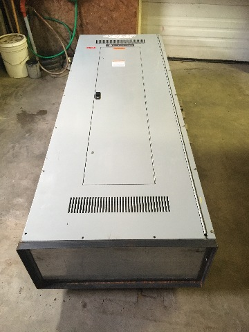 "GE,Spectra (90"" x 31 1/2""x 41 1/2"") Vented, Power Panelboard Enclosure APB3189D"