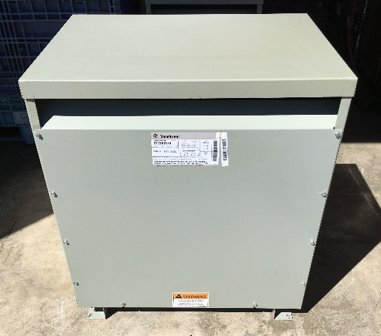 Dis7052 Ge 75 Kva 480 208y 120 3 Phase Transformer 9t23b3874jpeg