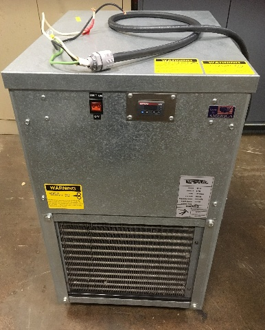 Temptek Small Air Cooled Portable Water Chiller-CF-1A, 1 Ton