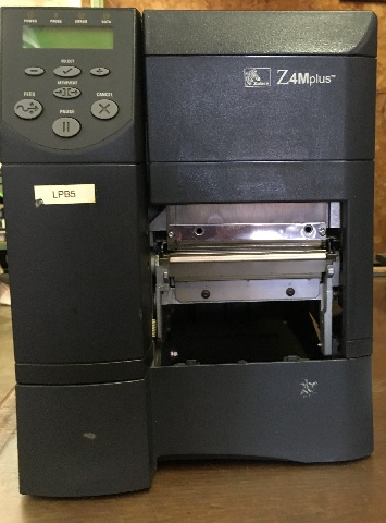 Zebra Z4Mplus Thermal/ Postal Labels/ Barcode Printer, Z4M00-2001-0020/ WORKS