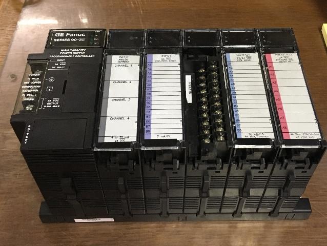 GE FANUC 1C693CPU313W Base 5 Slot with CPU