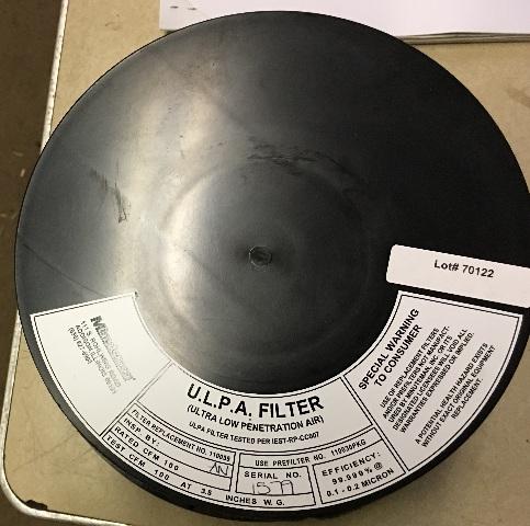 Minuteman U.L.P.A. Filter