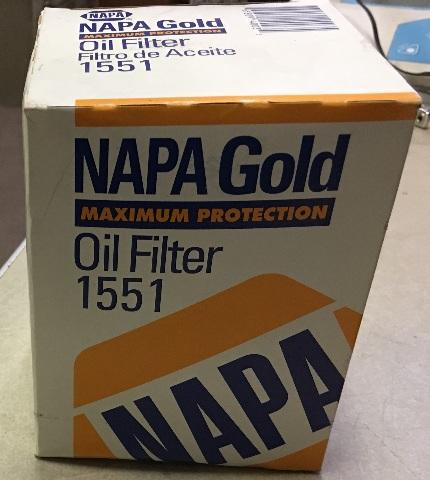 Napa Gold Oil Filter 1551