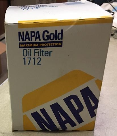 Napa Gold Oil Filter 1712