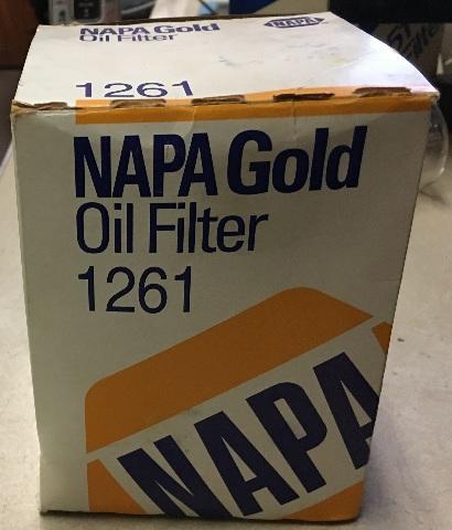 Napa Gold Oil Filter 1261