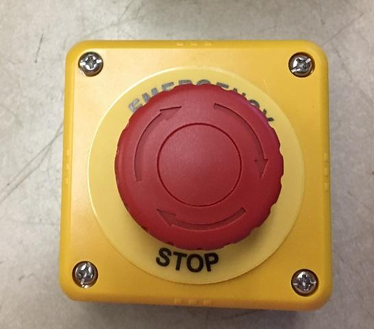 IDEC Emergency Stop Button FB1W-XW1E