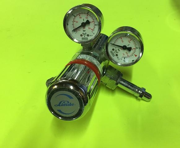 Linde Redline Cylinder Regulator CB200/2 14E 350 3000 PSI High Pressure 35-200