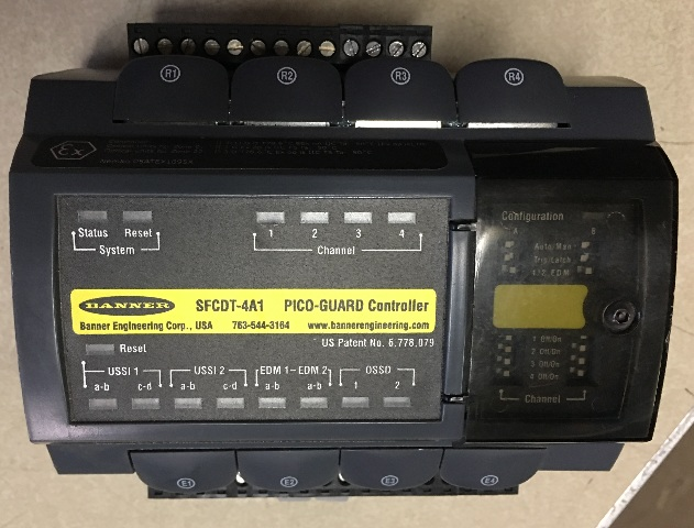 Banner FCDT-4A1 Pico Guard Controller
