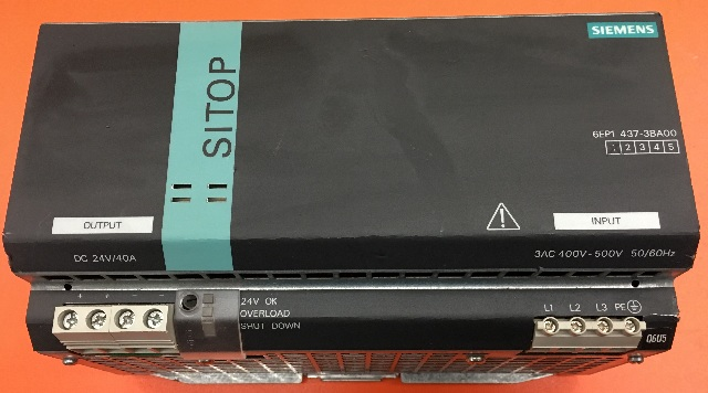 Siemens 6EP1 437-3BA00 SITOP power 40 power supply