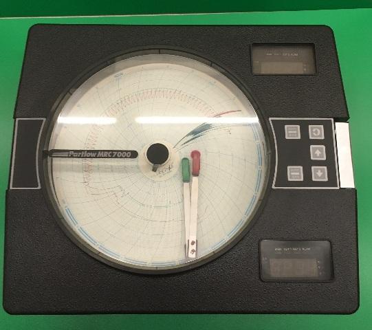 Partlow MRC 7000  Circular Chart Recorder