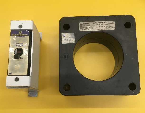 Square D Ground Censor, Cat No. GA-375T, Trip Range 4-36 AMPS