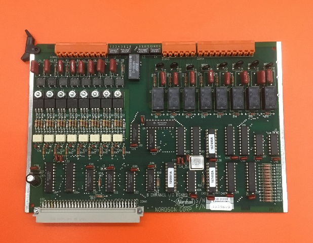 Nordson 8 Channel I/O Board, P/N 105987G
