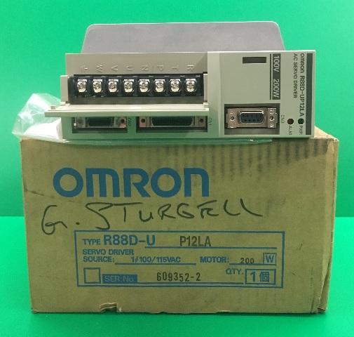 Omron AC Servo Driver/ Type R88D-UP12LA