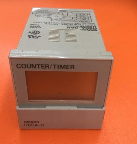 Omron H8CA-SAH/ Counter Timer/ Source 24 To 240 VAC, 50/60 Hz
