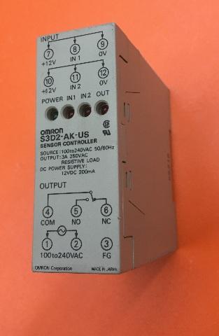 OMRON S3D2-AK-US Sensor Controller, Source: 100 to 240VAC, 50/60Hz