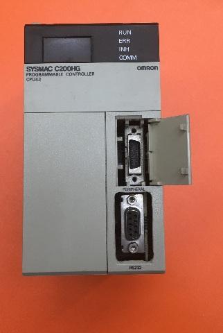 OMRON Sysmac, CPU Unit, C200HG-CPU43-E, Programmable Controller