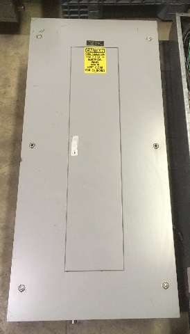 General Electric NLAB Style 5 Main Breaker Panel 225AMP, 208Y/120V, 3P, 4W