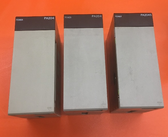 Lot of 3- Omron C200HW-PA204 Power supply Unit