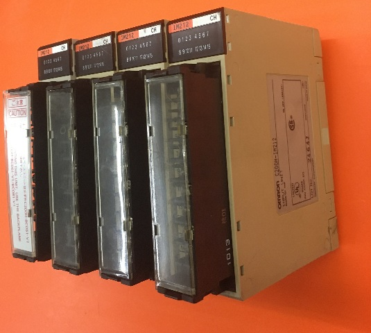 Lot of 4- Omron C200H-IM212 Input Unit