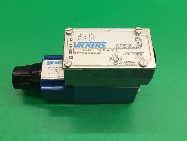 Vickers Directional Valve/ Pilot Valve Model No. DG4V-3-2A-M-W-B-40