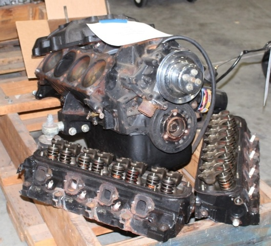 Ford 351W Engine ,Marine Dress (Parts Only)