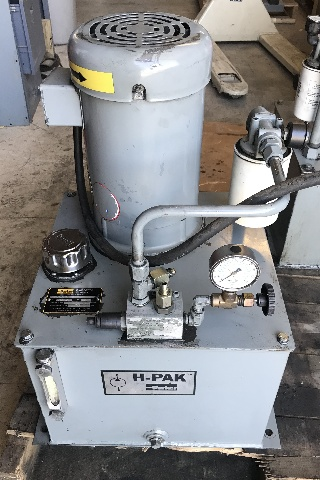 Parker H-PAC Fluidpower Systems- Model H1-3.7L3P0-5HP 10 Gal Max Press. 1850 PSI,