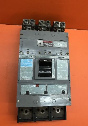 Siemens Sentron Series Breaker LMXD63B800, 800Amp Trip, 600V