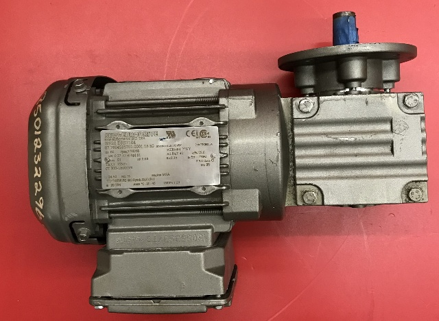 SEW-Eurodrive Gearmotor WF20 DRS71S4, 60 HP, 1700/69 rpm, 230YY/460Y volts