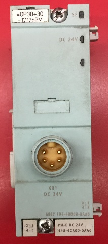 Siemens 6ES7-194-4BD00-0AA0 Connection Module with Backplane BUS Module
