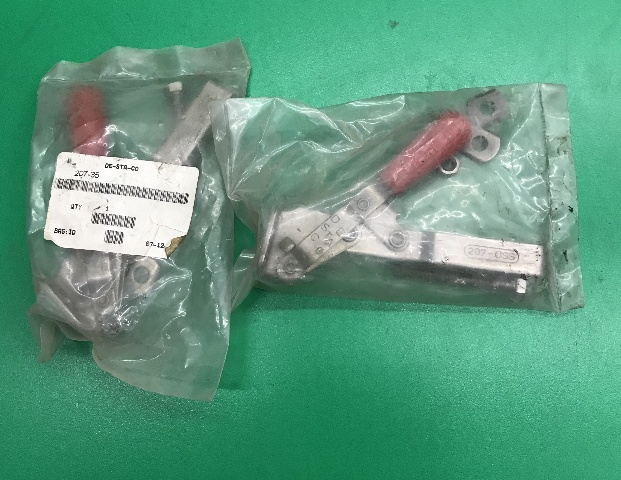 2 Pack of - DE-STA-CO 207-35 Vertical Hold Down Clamps