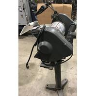 "Dayton  42912B  10"" Bench grinder with stand 1 HP"