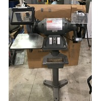 "Dayton  42912B  10"" Bench grinder with stand 1 HP"