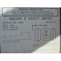 Square D Safety Switch H325