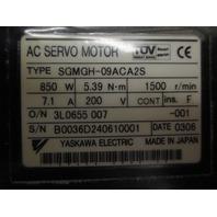 Yaskawa Servo Motor SGMGH-09ACA2S