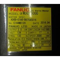 Fanuc Servo Motor m30/3000 Spec. # A06B-0166-B675