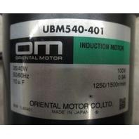 Oriental Motor Stepper Motor UBM540-401