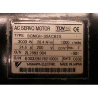 Yaskawa Servo Motor SGMGH-30ACB2S